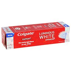Pasta Dental Colgate Luminous White Advanced Fresh Mint 70 g