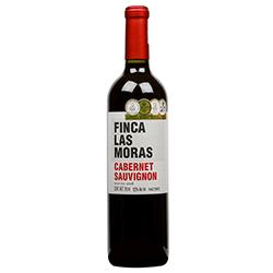 Vino Tinto Las Moras Cabernet Sauvignon Botella 750 mL