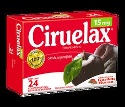 Ciruelax Laxante  24 Comprimidos