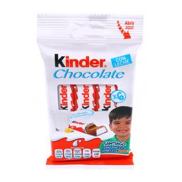 Chocolate Kinder Con Leche 12.5 g x 6
