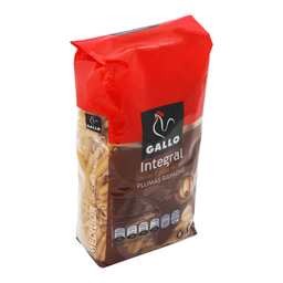 Pasta Gallo Pluma Integral 500 g