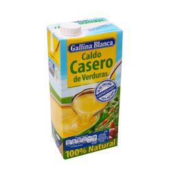 Gallina Blanca Caldo de Verduras Casero