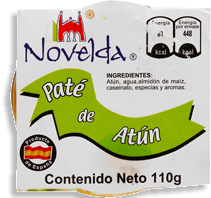 Paté Novelda de Atún 110 g
