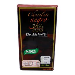 Chocolate Amargo Santiveri 74% Cacao Sin Azúcar 80 g