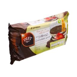 Tortitas de Arroz Chocolate Con Leche Diet Radisson 135 g