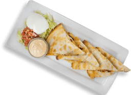 Bacon Ranch Chicken Quesadillas