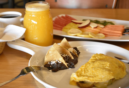 Omelette Jamón y Queso