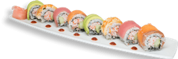 Asian Rainbow Roll