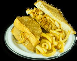 Chick Strip Cheese Sandwich