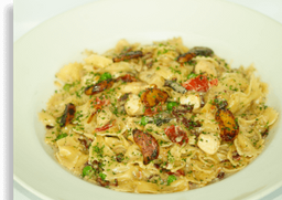 Farfalle With Chicken and Roasted Garlic
