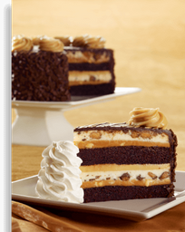 Reese's® Peanut Butter Chocolate Cake Cheesecake