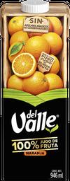 Del Valle 100% Jugo de Naranja Cartón 946ml