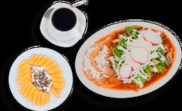Paquete Chilaquiles con Pollo