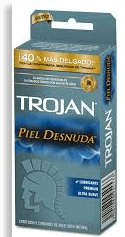 Condones Trojan Piel Desnuda Caja 3 U