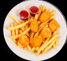 Nuggets de Pollo con Papas