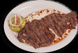 Huarache con Costilla o Carne Asada