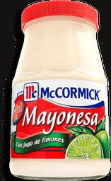 Mayonesa McCormick Con Jugo de Limón 390 g