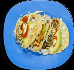 Tacos Chiroteados