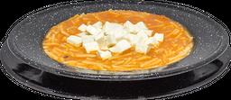 Sopa de Fideo con Queso Panela