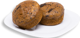 Muffin de Plátano con Blueberry