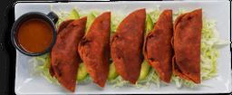 Tacos Rojos de Papa