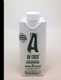 Agua Saborizada A de Coco Orgánica 330 mL