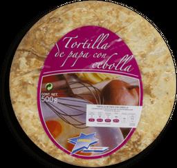 Tortilla Española Con Cebolla