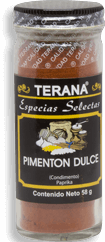 Pimenton Dulce Terana 58 Gr