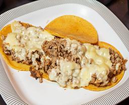 Tacos Manolo con Queso
