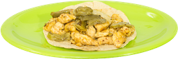 Orden 3 Piezas Tacos Pechuga de Pollo