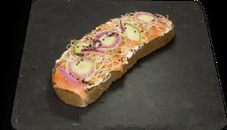 Salmón Toast