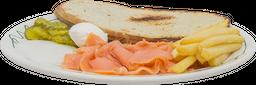 Sándwich con Lox
