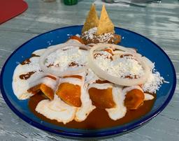 Enchiladas Enjitomatadas