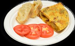 Tortilla de Jamón Serrano