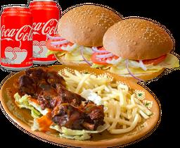 Combo Burgers del Barrio