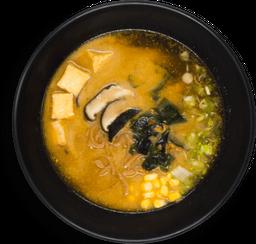 Ramen Diablo Miso (Fideo Diablo) Porción Completa