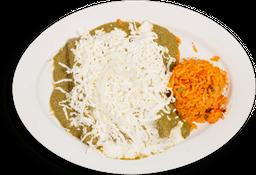 Enchiladas de Mole Verde