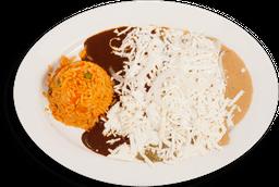 Enchiladas de 3 Moles