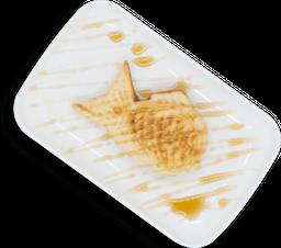 Taiyaki sabor Matcha Vegano