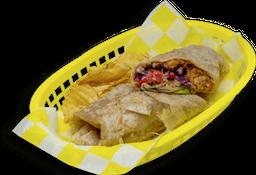 Burrito de Pescado Rebozado