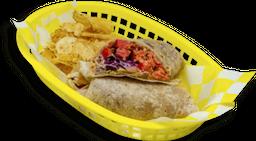 Burrito de Marlin Ahumado