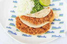 Taco Huevo con Chorizo