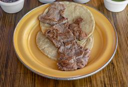 Taco de Filete Estilo Gaona