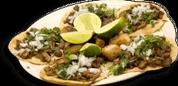 Orden de Tacos de Bistec