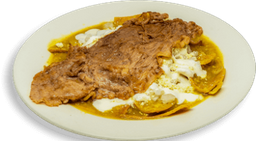 Chilaquiles con Costilla