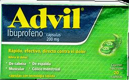 Advil 20 Cap 200 mg