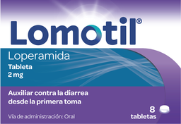 Antidiarréico Lomotil 8 Tabletas 2 Mg