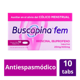 Buscapina Fem 10 Tabs 400/20Mg