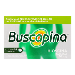 Buscapina Simple 36 Grageas (10 mg)