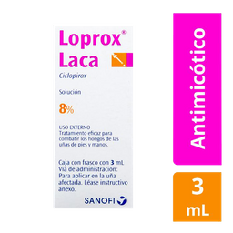 Loprox Laca Solución 3 mL (8%)
